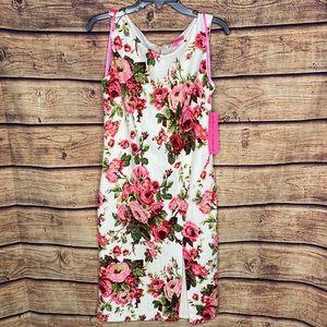 NWT Betsy Johnson Floral Dress 8